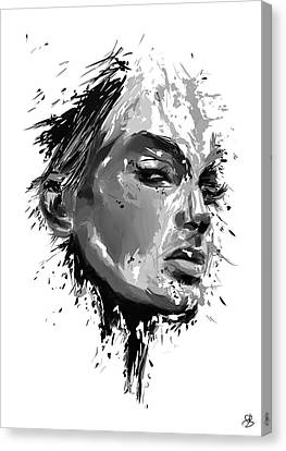 Look Canvas Print by Balazs Solti