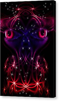 Look Into My Eyes Canvas Print by Nathan Wright