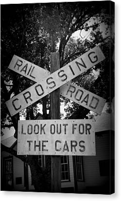 Look Out For Cars Canvas Print