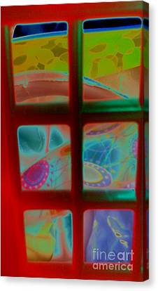 Look Through Any Window Canvas Print - Look Through Any Window by Martin Howard