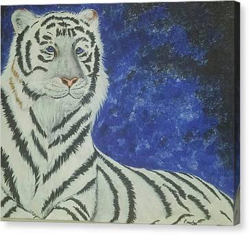 Assia Canvas Print - Looking Ahead by Paula Marley