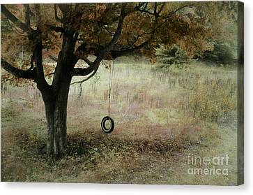 Looking Back To Simple Times Canvas Print by Brenda Bostic