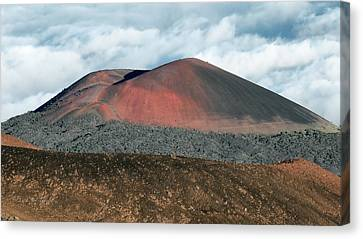 Canvas Print featuring the photograph Looking Down by Jim Thompson