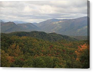 Looking Down On The Majestic Smokies Canvas Print