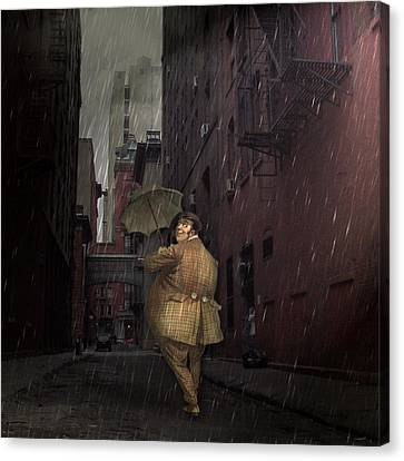 Looking For Broadway Canvas Print by Kathleen Holley