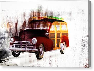 Looking For Surf City Canvas Print by Bob Orsillo