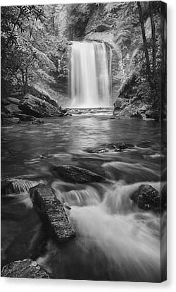 Canvas Print featuring the photograph Looking Glass Falls by Photography  By Sai