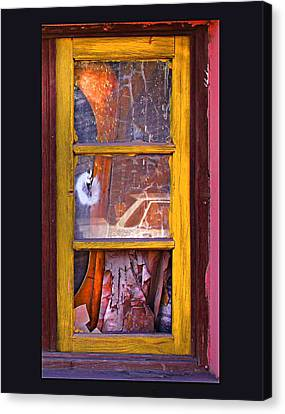 Canvas Print featuring the photograph Looking Glass by Kandy Hurley