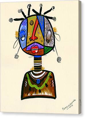 Looking Good Like My Maid Canvas Print by Oglafa Ebitari Perrin