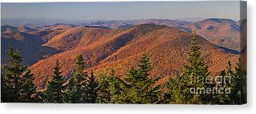 Looking North From Mount Equinox Canvas Print
