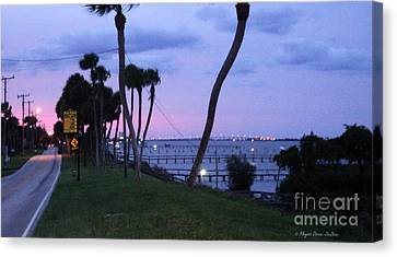 Canvas Print featuring the photograph Looking North2 by Megan Dirsa-DuBois