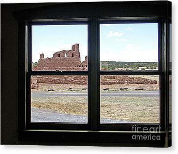 Looking Out At Abo Canvas Print
