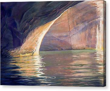 Looking Out Lake Powell Canvas Print