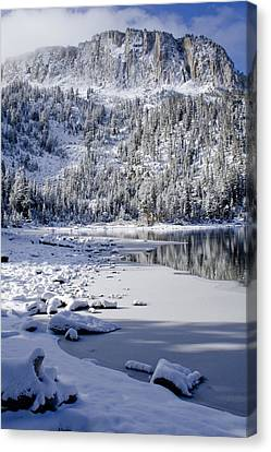 Looking Over Mcleod Canvas Print by Chris Brannen