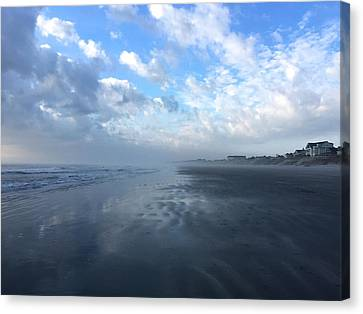 Looking South Canvas Print