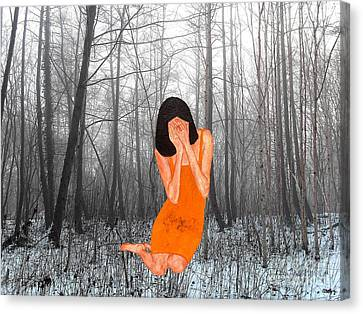 Looking Through My Fingers 3 Canvas Print by Patrick J Murphy