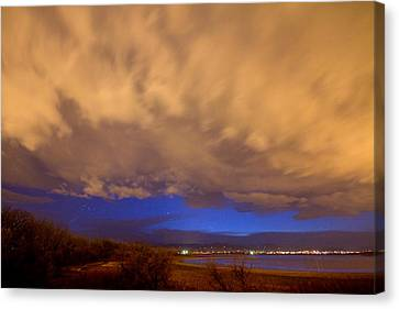 Looking Through The Storm Canvas Print by James BO  Insogna
