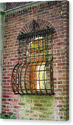 Looking Through Time Canvas Print by Karen Silvestri