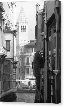 Looking Through To A View Venice Canvas Print by Dorothy Berry-Lound