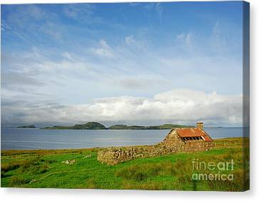 Looking To The Summer Isles Canvas Print by John Kelly