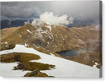 Looking Towards Meall Garbh Canvas Print by Ashley Cooper