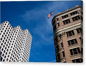 Looking Up Canvas Print by Mark Weaver