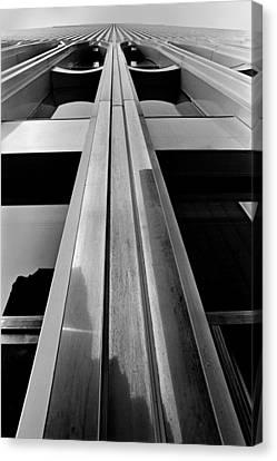 Looking-up World Trade Center Canvas Print by Wernher Krutein