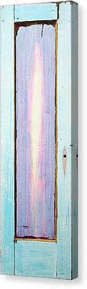 Looking Within Door Canvas Print by Asha Carolyn Young