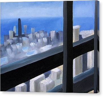 Lookout  Canvas Print by Christina Rahm Galanis