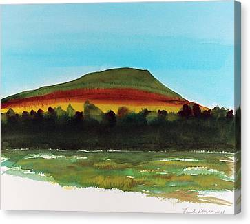 Canvas Print featuring the painting Lookout Mountain Tn by Frank Bright