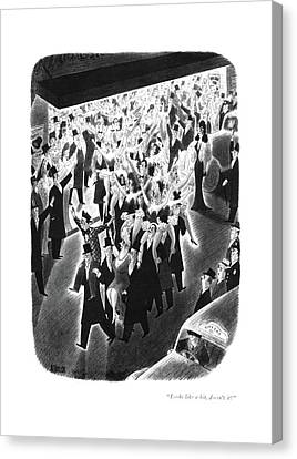 1941 Movies Canvas Print - Looks Like A Hit by Richard Taylor