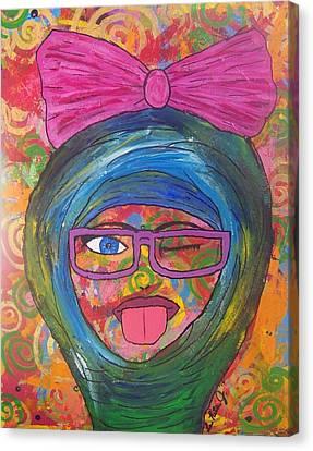 Loopy  Canvas Print by LaRita Dixon