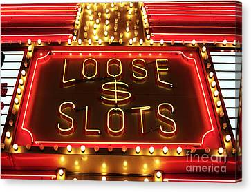 Loose Slots Canvas Print