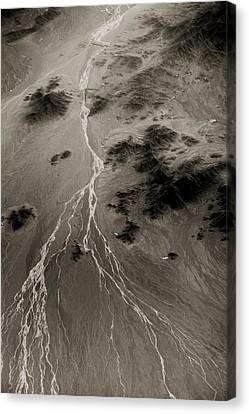 Loot Desert Canvas Print by Paul Williams