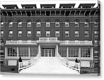Loras College Keane Hall Canvas Print by University Icons