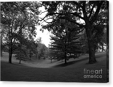 Loras College Landscape Canvas Print by University Icons