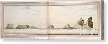 Lord Howe Island, 18th Century Canvas Print