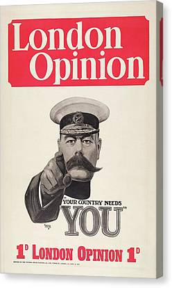 Lord Kitchener Army Recruitment Canvas Print