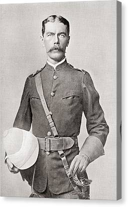 Lord Kitchener In 1882 As Major Of The Egyptian Cavalry.  Field Marshal Horatio Herbert Kitchener Canvas Print