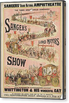 Lord Mayors Show Canvas Print