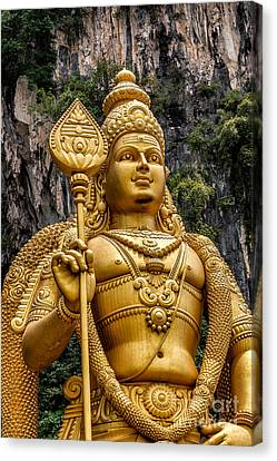 Lord Murugan Canvas Print by Adrian Evans