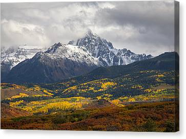 Lord Of The Divide Canvas Print