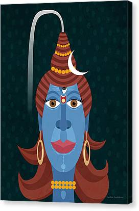 Lord Shiva - Transformer Or Destroyer Canvas Print