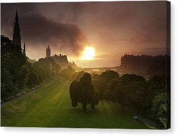 Lord Sun Canvas Print