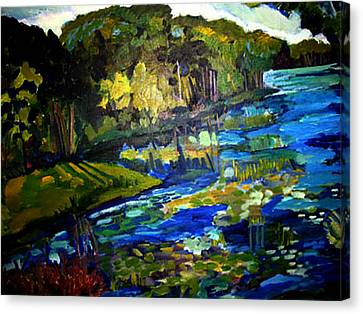 Lore Lake Canvas Print
