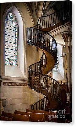 Loretto Chapel Staircase Canvas Print