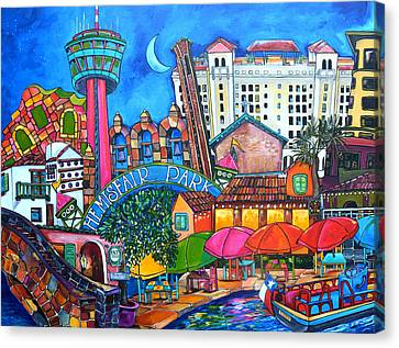 Lorfings San Antonio Canvas Print