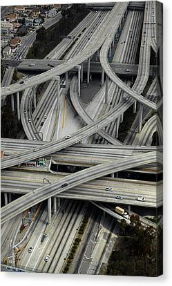 Los Angeles, Judge Harry Pregerson Canvas Print