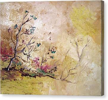 Los Horgolitos 2 Canvas Print by Doris Cohen