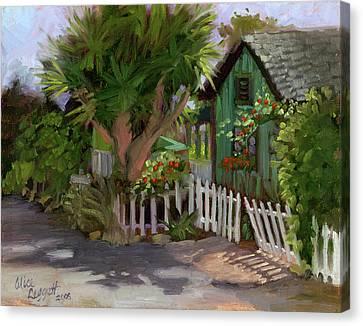 Los Rios Street San Juan Capistrano California Canvas Print